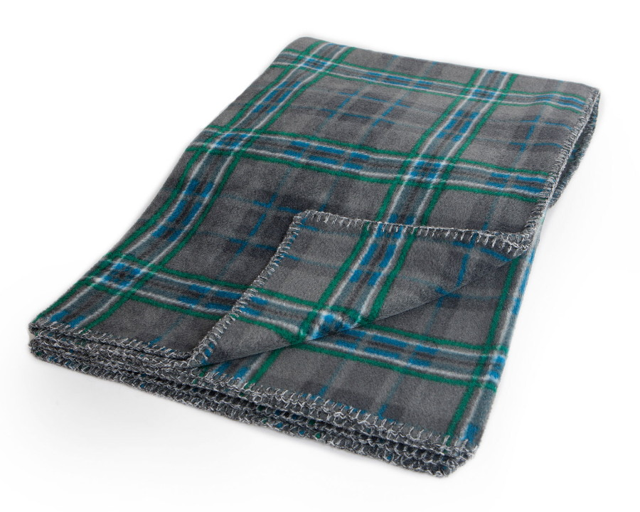 Giants Causeway Tartan Fleece Throw
