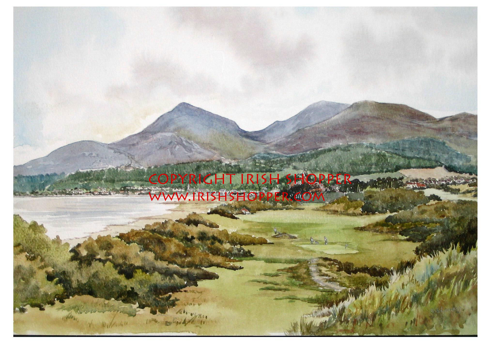 Royal County Down Golf Course - Large
