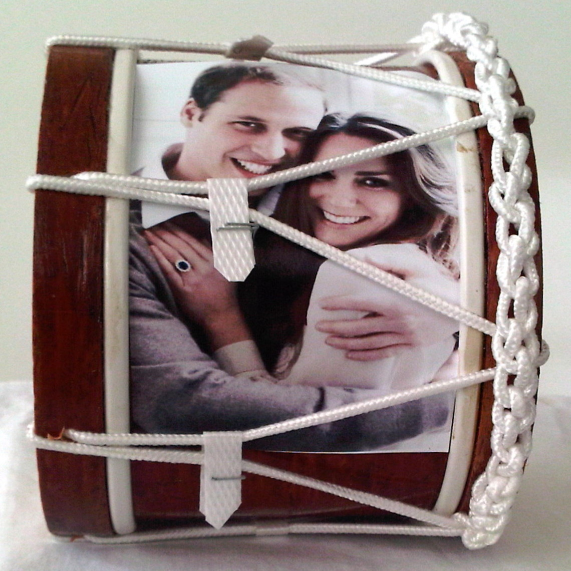 Royal Wedding Souvenir Mini Lambeg Drum ( Casual Image )