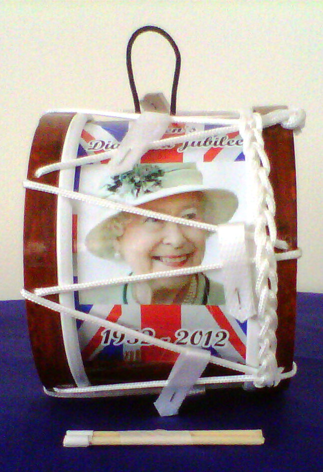 Lambeg Drum | Souvenir | Queen's Diamond Jubilee | 1952 - 2012