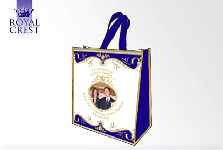 Royal Wedding Shopping Bag