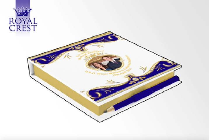 Royal Wedding Memo Pad