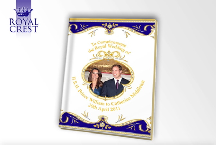 Royal Wedding Notebook
