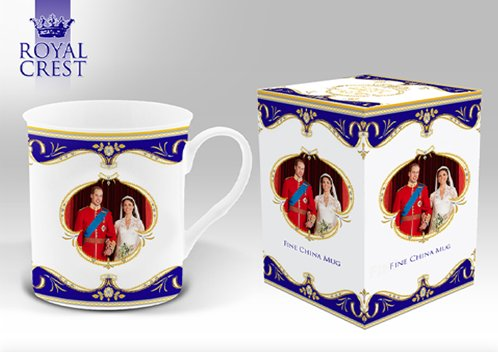 Royal Wedding Day Fine Bone China Windsor Mug