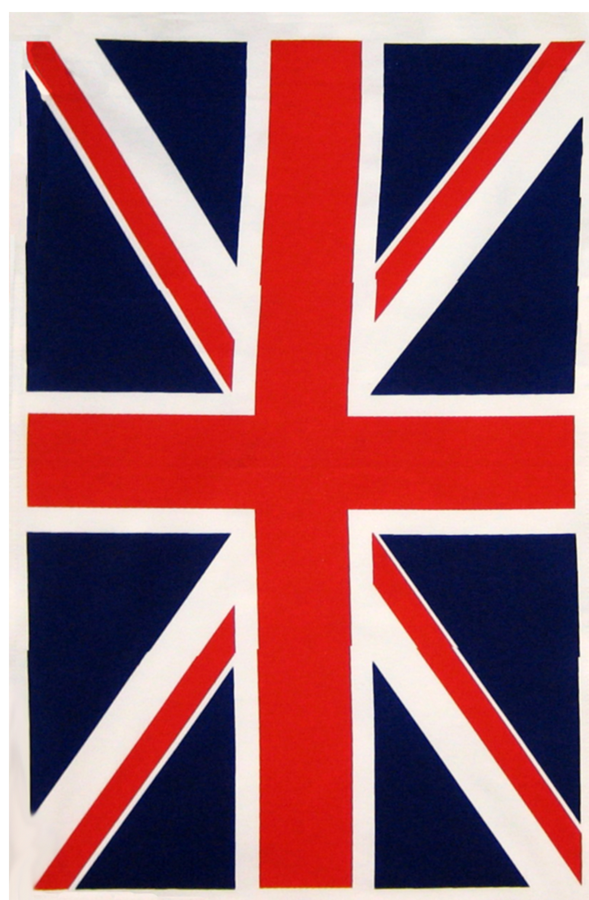 Union Flag Linen Tea Towel