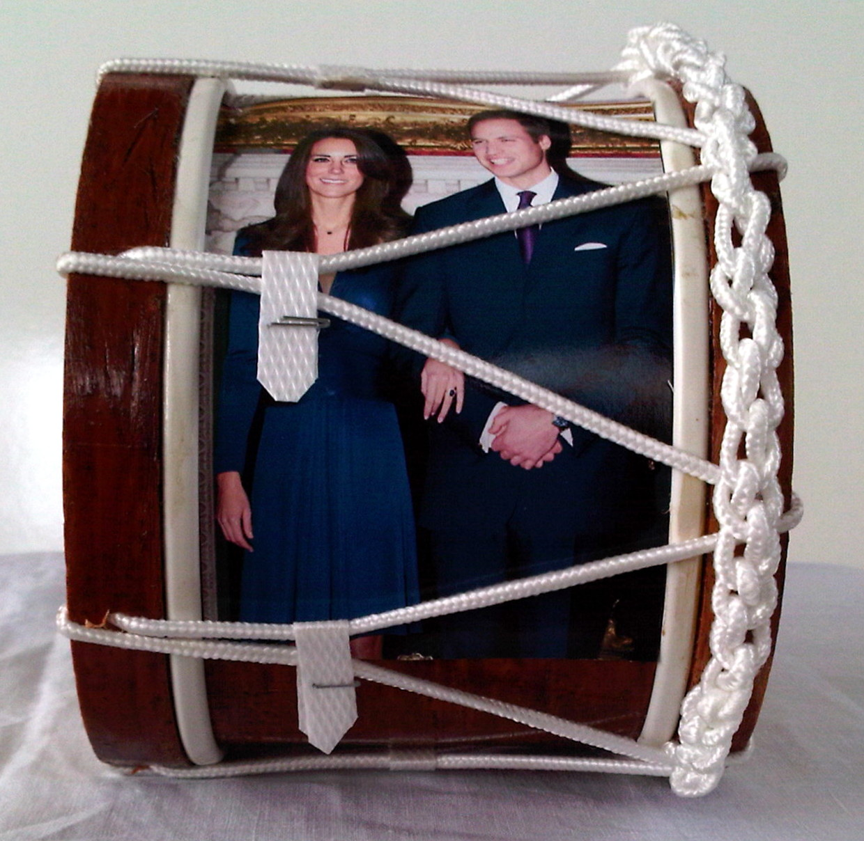 Royal Wedding Souvenir Mini Lambeg Drum ( Formal Image )