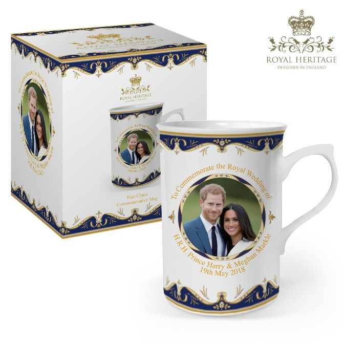Royal Wedding Prince Harry and Meghan Markle Fine China Mug