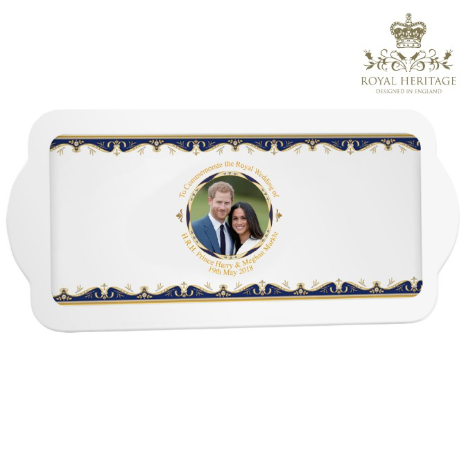 Royal Wedding Prince Harry and Meghan Markle Sandwich Tray