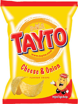 Tayto Cheese & Onion Crisps 35g x 24
